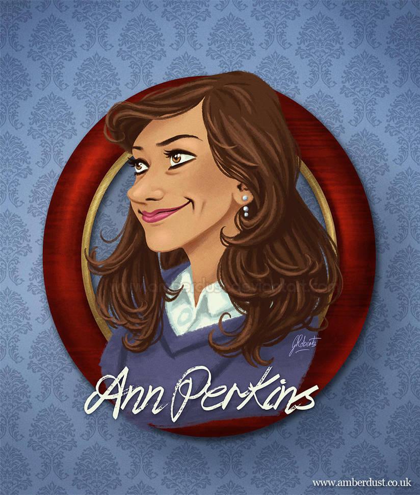 Ann Perkins Portrait by AmberDust