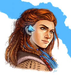 Aloy - Horizon Zero Dawn by AmberDust