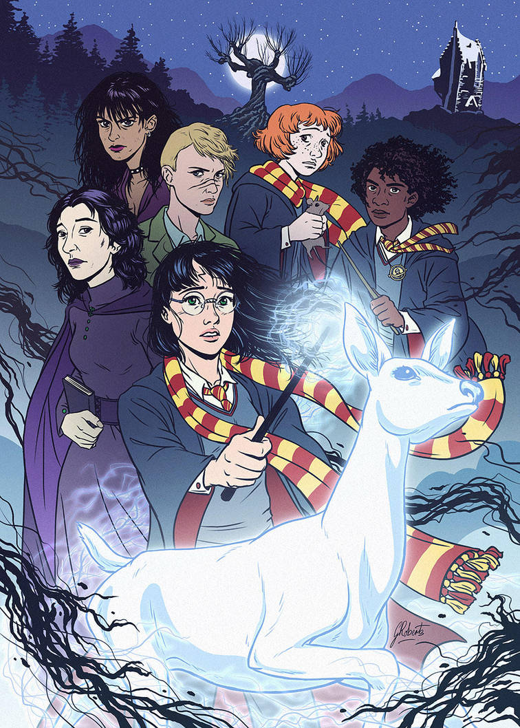 Harriet Potter and the Prisoner of Azkaban by AmberDust