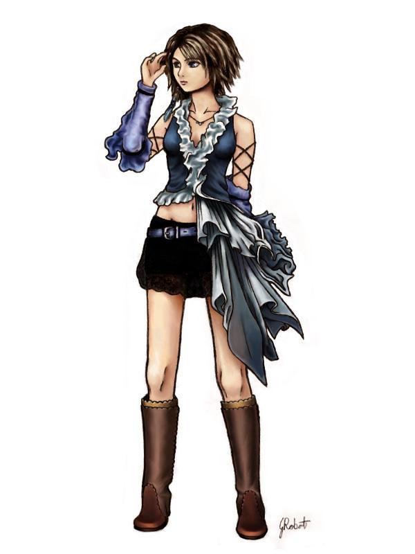 FFX-2 Yuna Songstress by AmberDust