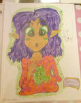 Ly the Fairy (School Drawing) by ClaireAimee