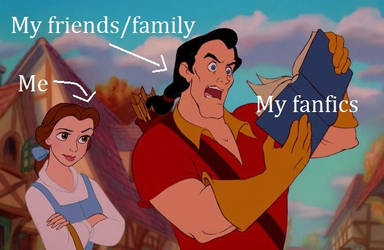 Showing your fanfics be like... by ClaireAimee