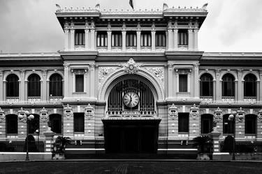 Saigon Central Post Office by mohamadfazli
