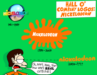 History Of Nickelodeon Logos by maniacaldude
