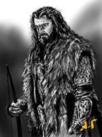 Thorin Oakenshield by Jaimus