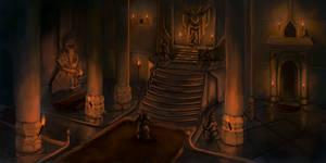 Dwarven King by Faradon