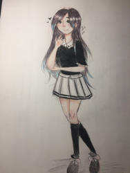 Random Korean girl   by Dashie896