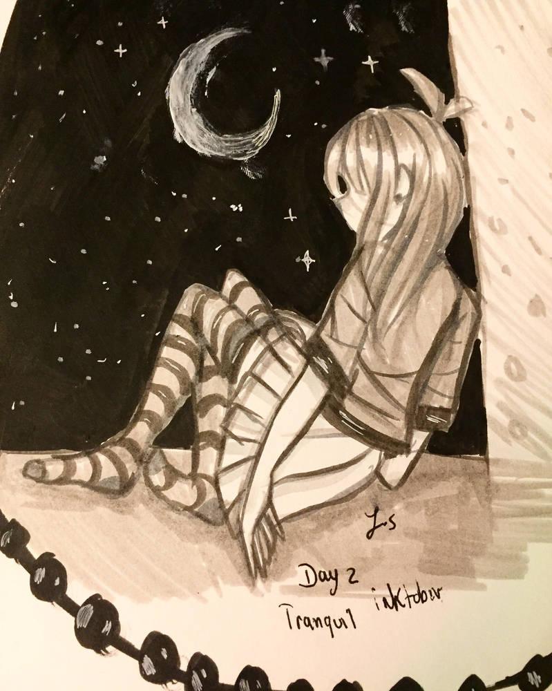 Day2 tranquil (inktober) by Dashie896