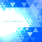 Blue Pattern Free Vector by vecree