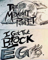 Inktober Day 2: Typography by diamndz1021