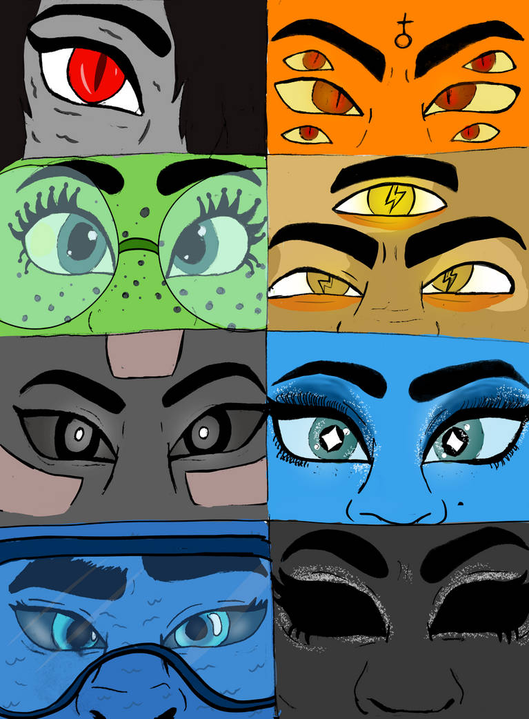 Eye See You (now in color!) by diamndz1021