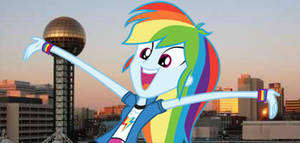 EG Rainbow Dash - The Sunsphere Is Awesome! by 987computer