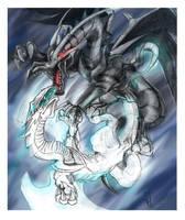 YGO Dragons by morganalefay
