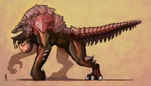Godzilla redesign main variant by SoulKarl