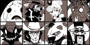Johnny Outlaw mug shots by SoulKarl