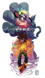VIBE AX print by SoulKarl