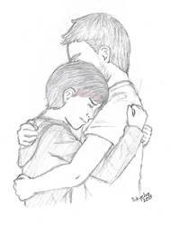 Saber Hug by Skyelre