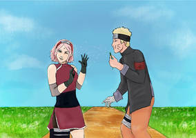 Narusaku Naruto The Last Version By Sammy237