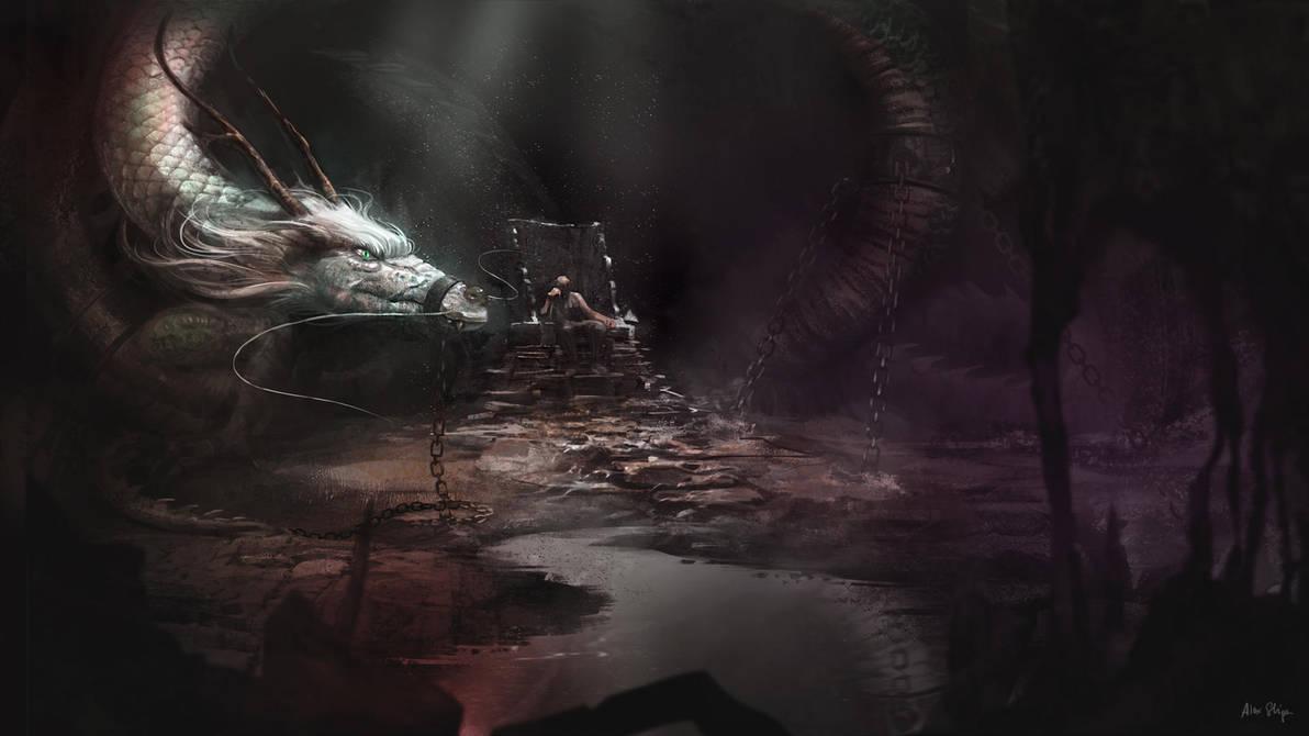 The dragon lord by AlexShiga