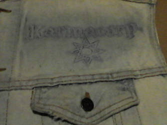 WIP- Battle Vest - Local Metal Bands 13 by Gothicdarkness