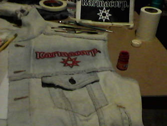 WIP- Battle Vest - Local Metal Bands 15 by Gothicdarkness