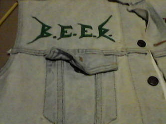 WIP- Battle Vest - Local Metal Bands 21 by Gothicdarkness