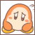 Kirby Icons (Puffball Line Stickers 6) by cuddlesnam