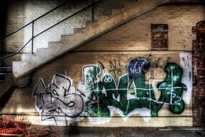 Factory graffiti HDR by BnBattaglia