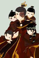 Royal Family Portrait by BlackDiamond13