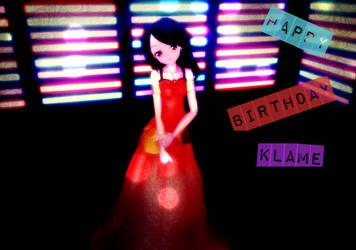 Happy Birthday Klame by sofushka9