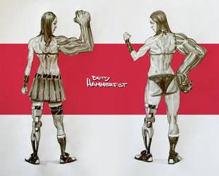 Betty Hammerfist by wi-flip-ff