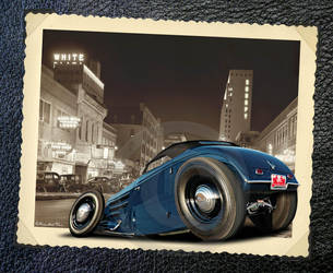 33 Ford roadster by RedHotTiki
