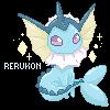 Pixelmon #134: Vaporeon by Rerukon
