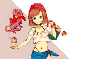 Pokemon Trainer by Rerukon