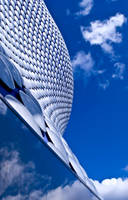 Bullring and the sky reflected by Alomie