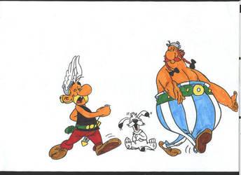 Asterix by ChosenOneFaith