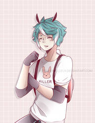 Speedpaint || The Bunny Guy by AsterMerveilleux