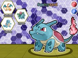 Poke Fusion - Squivyzard by PokeFusionMan