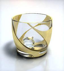 Glass Cup by phantompanic