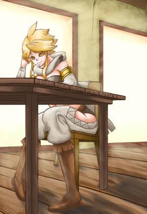 Leone - Akame ga Kill! by theMuesLee