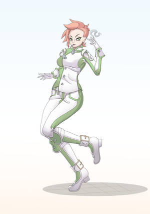 Mary Ruccus - Green Venoms 2017 by theMuesLee