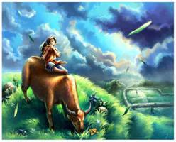 Herds-boy by dothaithanh