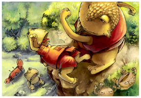 The toad attack by dothaithanh