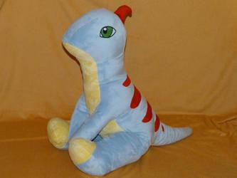Raptor Plushie by Fenmar
