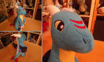 Wintersong: Handmade Dragon Plushie by Fenmar