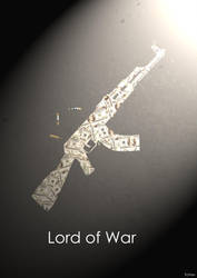 Lord Of War Minimalist Poster by Tchav