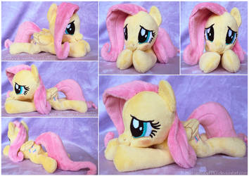 Simple Blushing Fluttershy Beanie by ButtercupBabyPPG