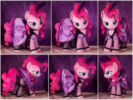 Saloon Pinkie Pie Plushie by ButtercupBabyPPG