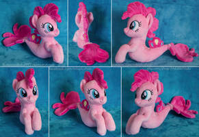 Seapony Pinkie Pie Beanie by ButtercupBabyPPG