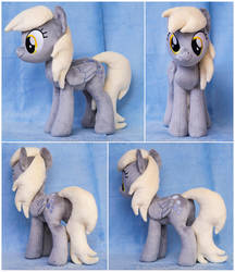 12inch Standing Derpy Plushie by ButtercupBabyPPG